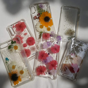 real flower in your phone case