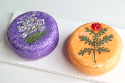 Floral Shampoo and Conditioner Bar