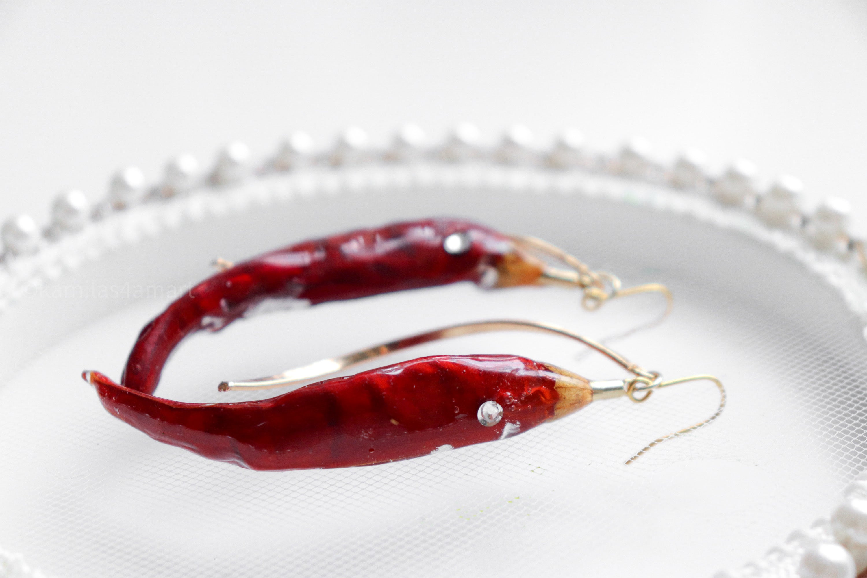 Red Chilli Earrings