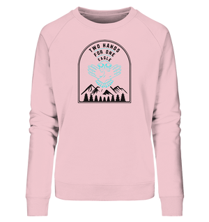 Ladies Türkis Organic Sweatshirt - Ladies Organic Sweatshirt