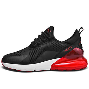 New Running Shoes for Men Jogging Sneakers for Women Air Sole Breathable Mesh Lace-up Outdoor Training Fitness Sport Shoes