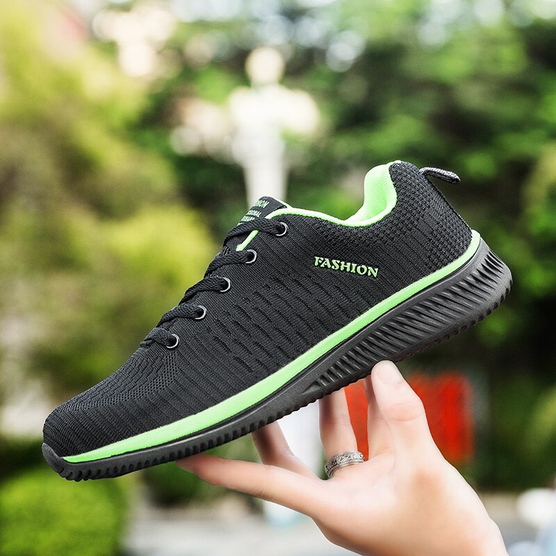 DUDELI Men Running Shoes Sneakers For Men Comfortable Sport Shoes Men Trend Lightweight Walking Shoes Breathable Zapatillas