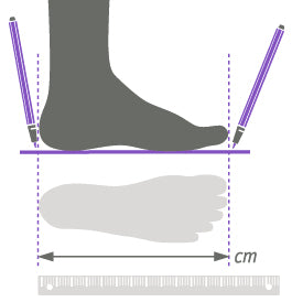 How to measure your foot