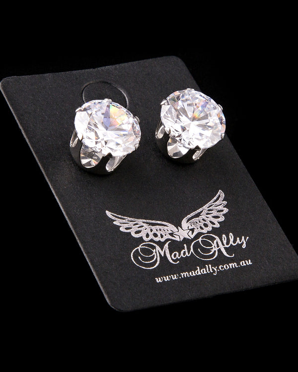 Diamante Earrings - 3 sizes