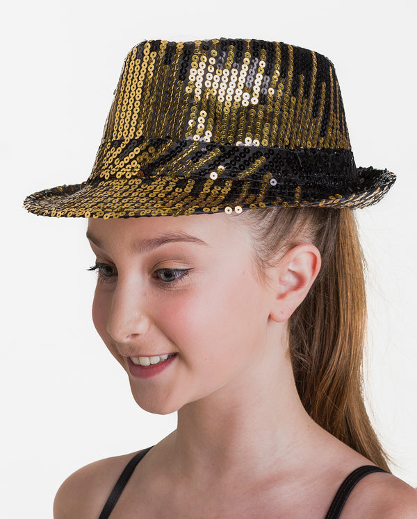 Studio 7, Meteor Hat, Black/Gold, ACC02