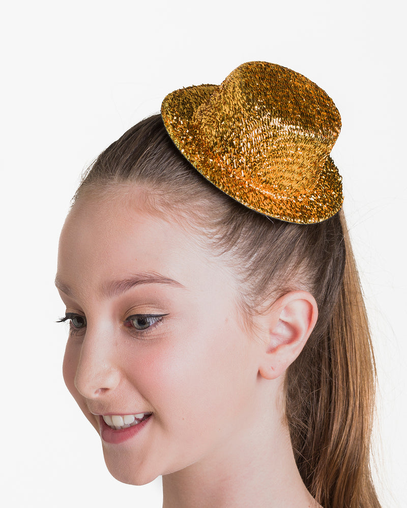 Studio 7, Glitter Hat Clip, Yellow Gold, ACC03