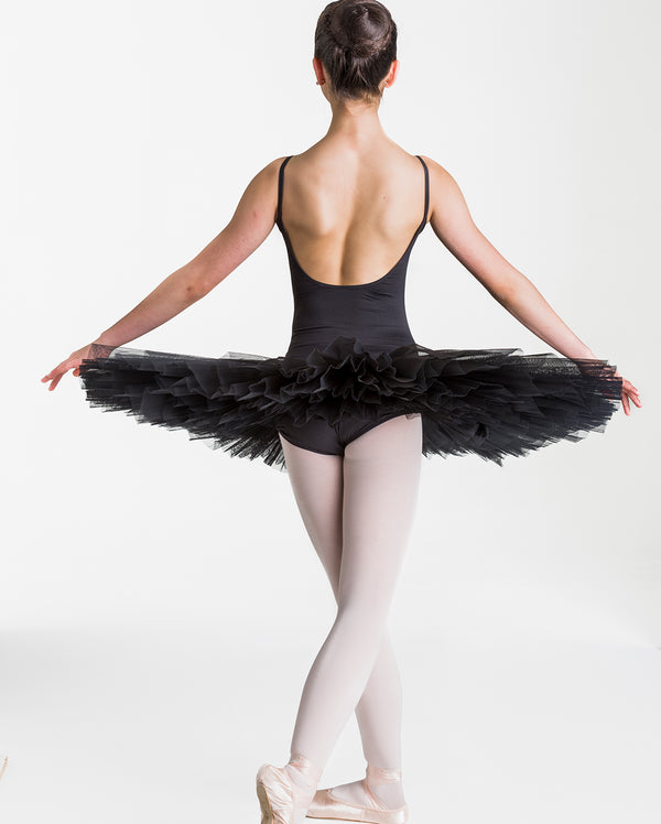 Studio 7 Half Tutu (Practice), Black, Childs, CHHT01