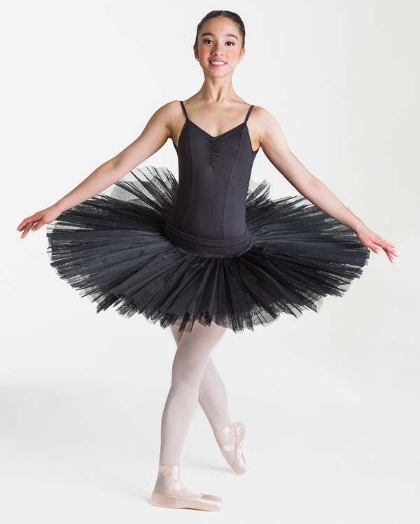 Studio 7 Half Tutu (Practice), Black, Adults, ADHT01