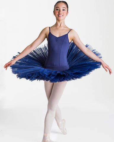Studio 7 Half Tutu (Practice), NAVY, Adults, ADHT01
