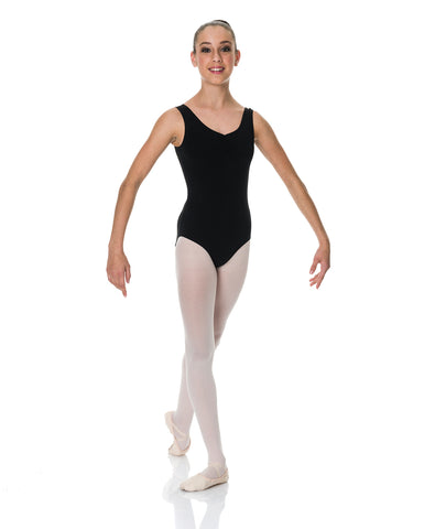 Studio 7, Thick Strap Leotard, Adults, (Cotton Lycra), ADL01
