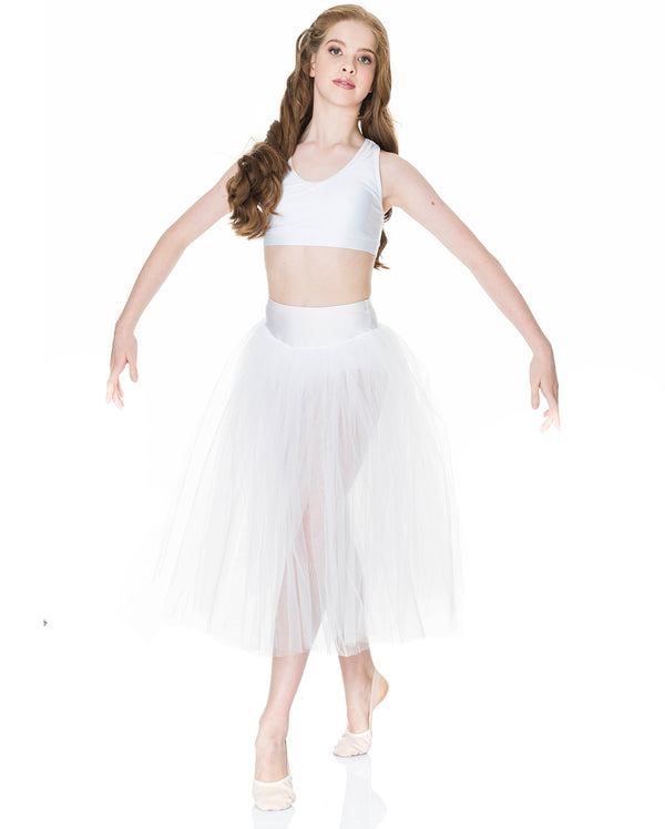 Studio 7, Dream Romantic Tutu Skirt, WHITE, Adults, ADRS01