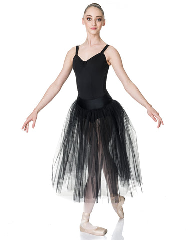 Studio 7, Dream Romantic Tutu Skirt, BLACK, Adults, ADRS01