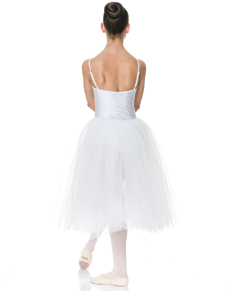 Studio 7, Adults Romantic Tutu (3 Layer), White, ADRT01