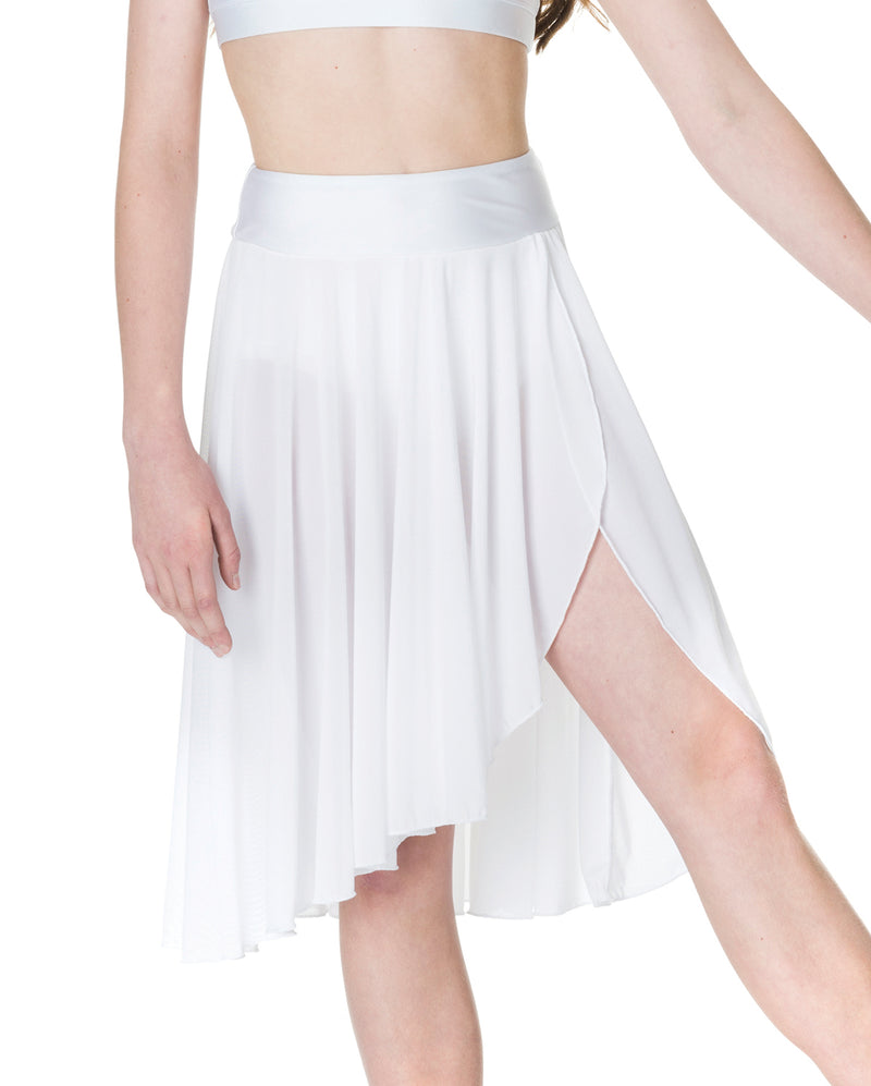 Studio 7, Inspire Mesh Skirt, White, Adults, ADSK05