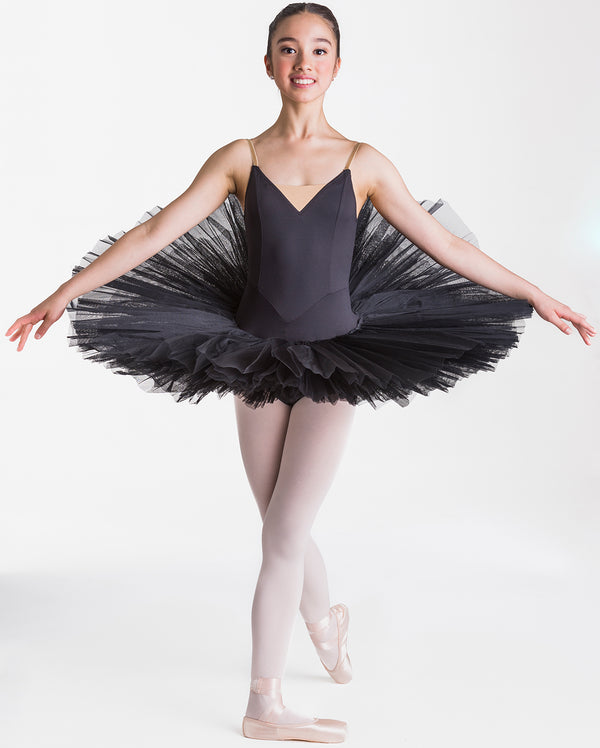 Studio 7, Adults Full Tutu (7 Layer), Black, ADTU02