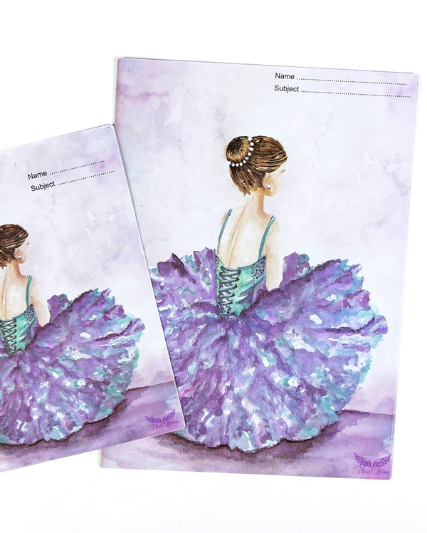 Ballerina Shoes Book Cover (2 sizes)