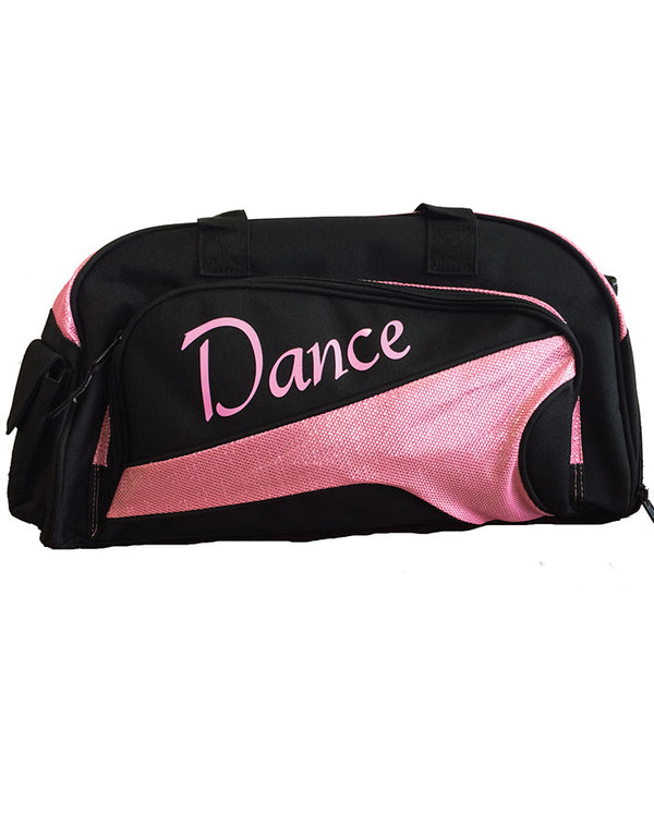 Studio 7, Junior Duffel Bag, Black/Ballet Pink, DB05 (Dance)