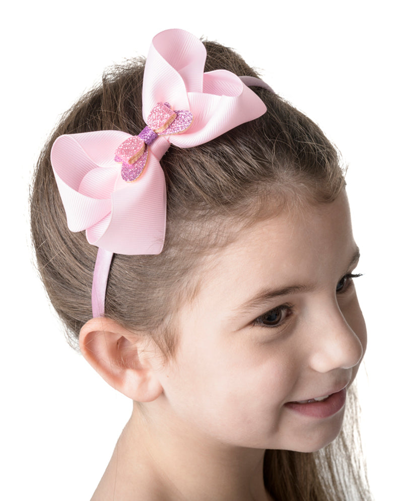 Studio 7, Big Bow Headband, HB09-F