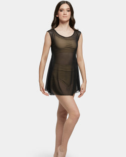 Studio 7, MESH SLIP DRESS, Black, Childs, CHD22