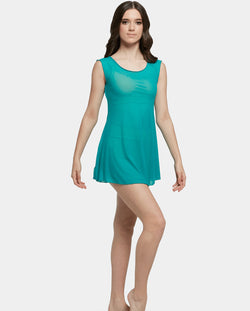 Studio 7, MESH SLIP DRESS, Sea Foam, Childs, CHD22