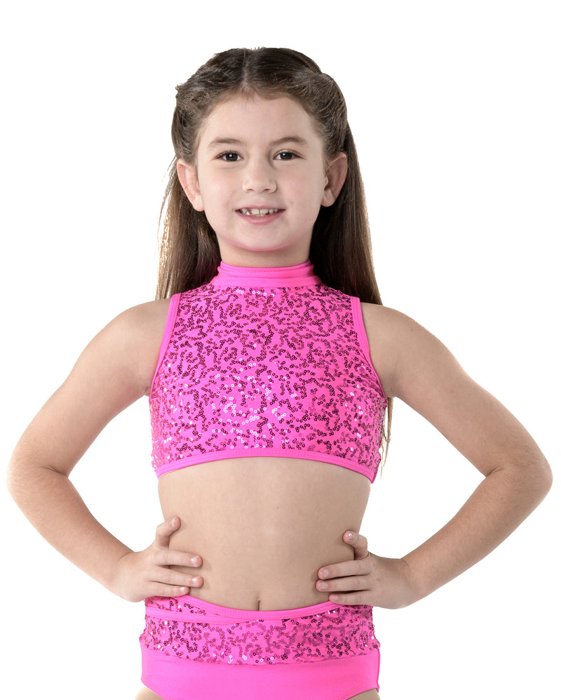 Studio 7, Cabaret Crop Top, (3 Colours) Childs, CHCT11