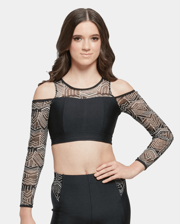 Studio 7, AZTEC CROP TOP, Childs, CHCT14
