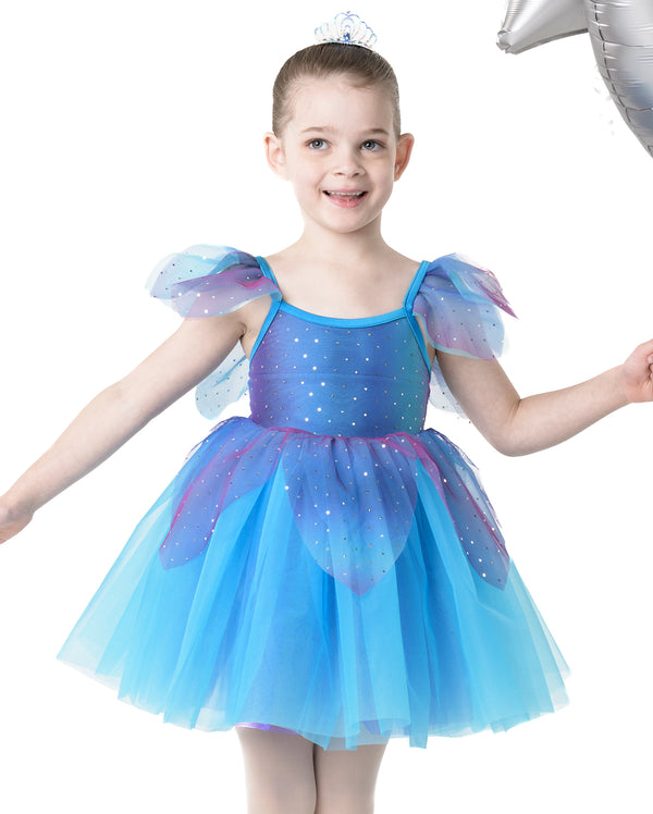 Studio 7, Fairy Doll Tutu (Tiara included), Turquoise, CHD09