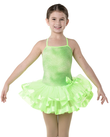 Studio 7, Sherbert Fizz Tutu (Hairbow included), Lime, CHD10