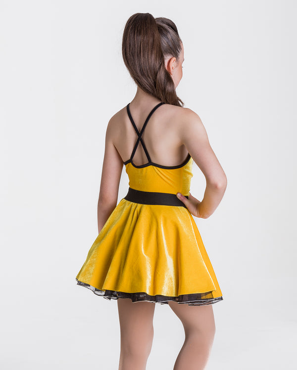 Studio 7, Rock & Roll Dress, YELLOW, Adults, ADD17