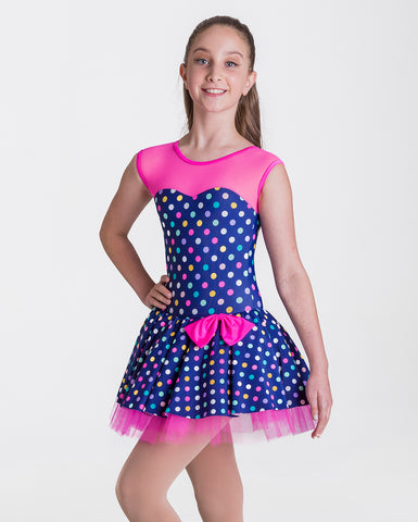 Studio 7, Polka Dot Princess, (5 Colours), Childs, CHD19