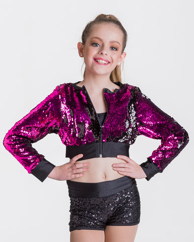 Studio 7, Stage Lights Cropped Jacket, (2 Colours) Childs, CHJ01