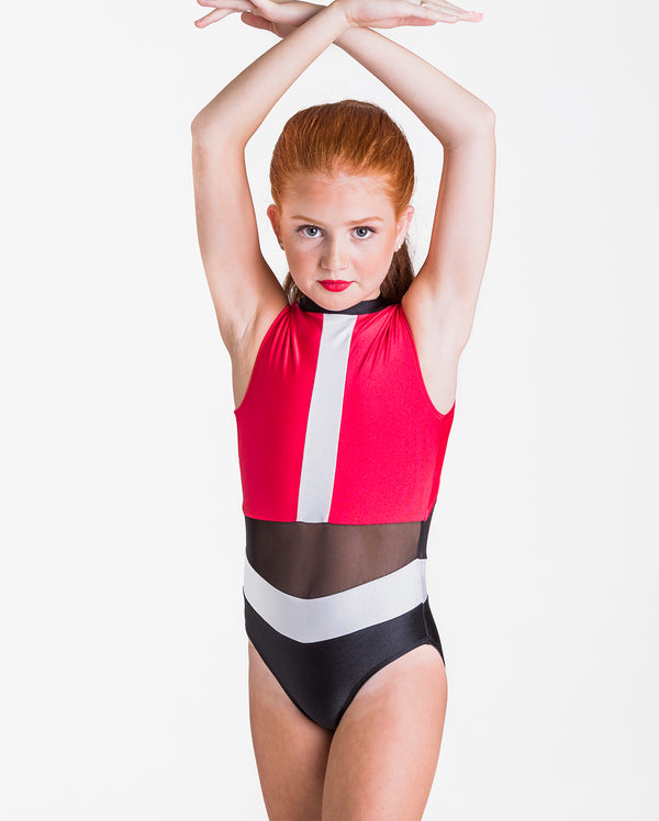 CLEARANCE, Studio 7, Felicity Leotard, RED, Adults, ADL08