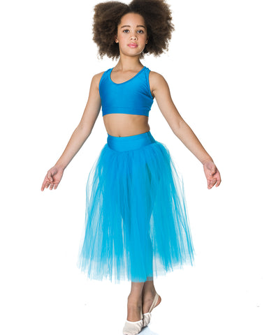 Studio 7, Dream Romantic Tutu Skirt, TURQUOISE, Childs, CHRS01