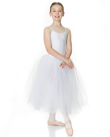 Studio 7, Girls Romantic Tutu (3 Layer), White, CHRT01