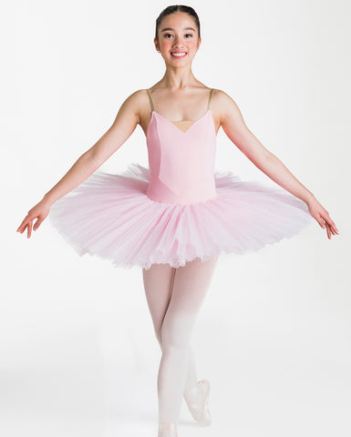 Studio 7, Girls Full Tutu (6 Layer Skirt), Pink, CHTU02
