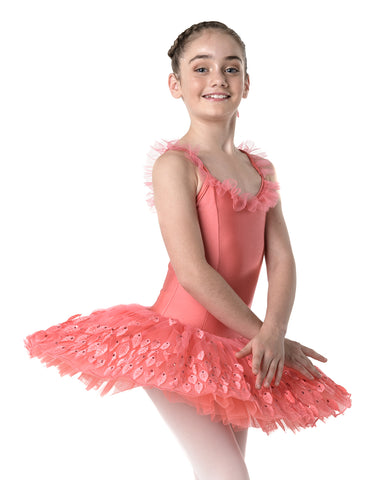 e7823d6c1 New Dance Costume Kids Girl Ballet Half Sleeve Dance Dress Lace ...