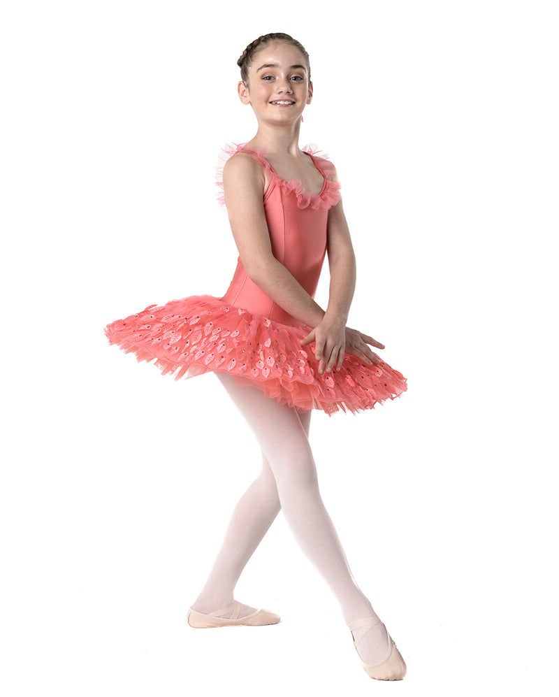 CLEARANCE, Studio 7, Seasons Tutu, Autumn (Coral), CHTU07