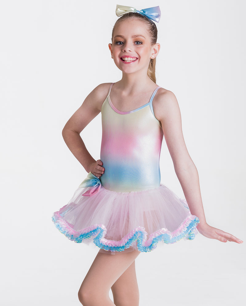 CLEARANCE, Studio 7, Unicorn Tutu Dress, RAINBOW, Childs, CHTU13