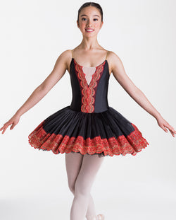 Studio 7, Royal Tutu, BLACK/RED, Childs, CHTU15