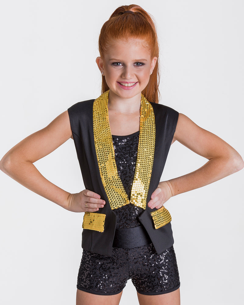 Studio 7, Unisex Sequin Waistcoat, (6 Colours) Adults, AWC01