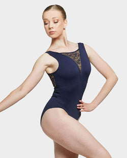 Uactiv, CAMILLA LEOTARD - FRENCH NAVY, BDS106C1