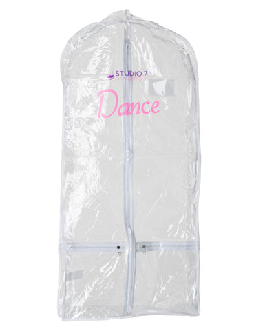 Studio 7, Short Garment Bag, Clear, GB02