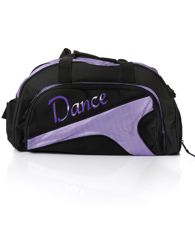 Studio 7, Junior Duffel Bag, Black/Purple, DB05 (Dance)