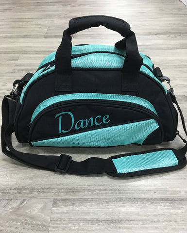Studio 7, Mini Duffel Bag, Black/Turquoise, DB08 (Dance)