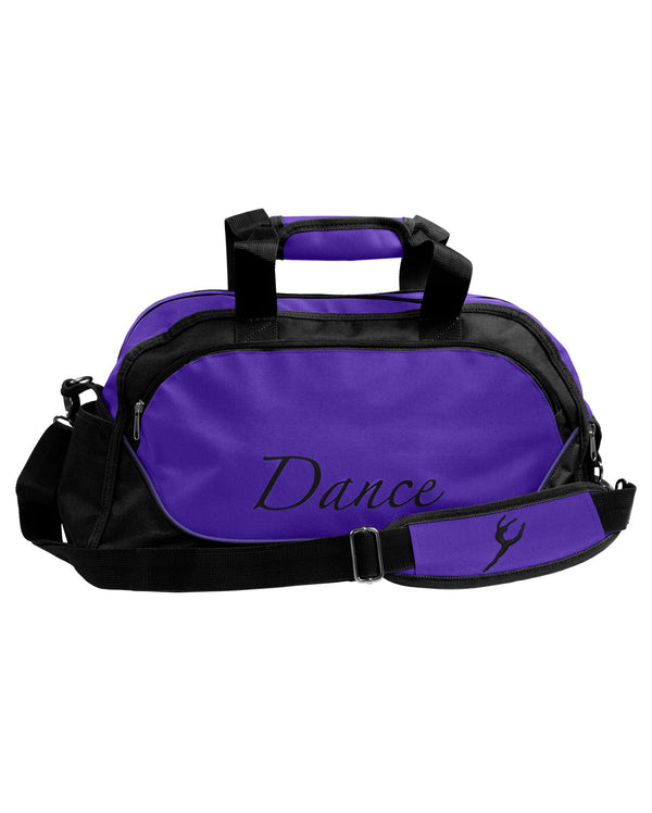 Energetiks Medium Dance Duffle, Deep Purple/Black, DB31 (New Fabric)