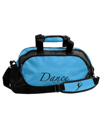 Energetiks Medium Dance Duffle, Turquoise/Black, DB31 (New Fabric)