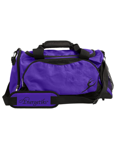 Energetiks Large Dance Bag, Deep Purple/Black, DB32 (New Fabric)