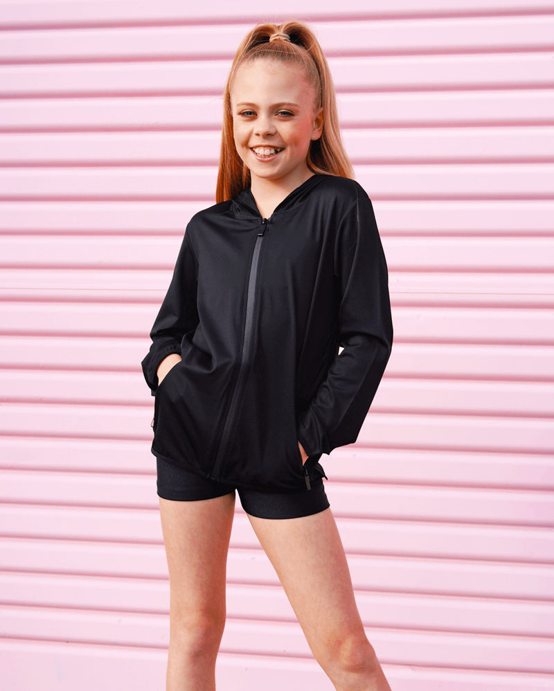 Studio 7, Lightweight Jacket, Black (Child & Adult sizes)