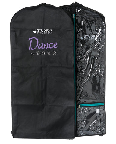 Studio 7, Short Garment Bag, Premium (Diamante embellishment) GB02