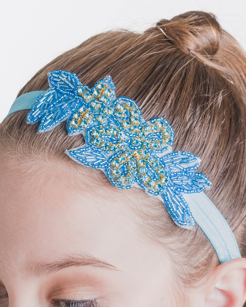 Studio 7, Illuminate Head Band, Turquoise